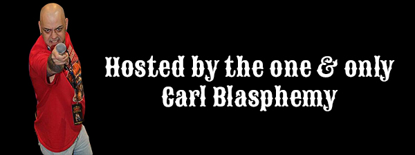 Hosted By Carl Blasphemy Page