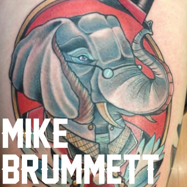 Michael brunnett top shelf tattooing bayside ny for Top shelf tattoos